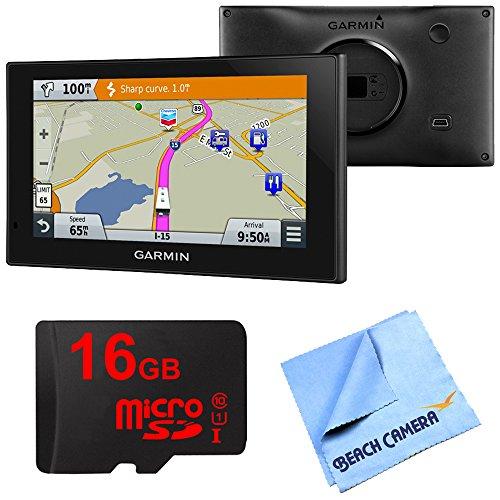 Garmin 010-01535-00 RV 660LMT Automotive GPS 16GB Micro SD Card Bundle includes Garmin RV 660LMT GPS, 16GB Micro SD Memory Card and Beach Camera Microfiber Cloth