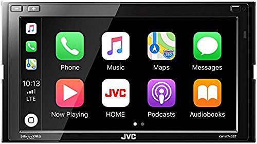 JVC KW-M740BT Apple CarPlay, Android Auto 2-DIN AV Receiver (No CD Drive)