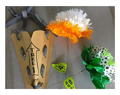 Renegade Made | Random Acts of Flowers KIT | Paper Art for Kids. Fun and Creative Flower Crafts for Kids. DIY Arts and Crafts for Spreading Kindness!
