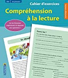 Cahier d'exercices Compréhension à la lecture (CM1 4e primaire) (vert)