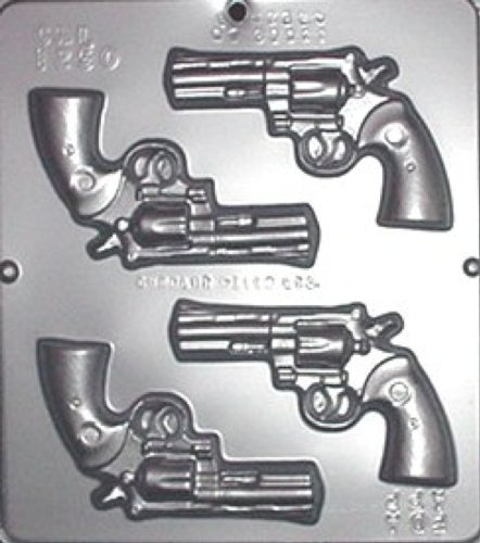 "Miscellaneous Gun Candy Molds Qty 1, 8"" x 9"""