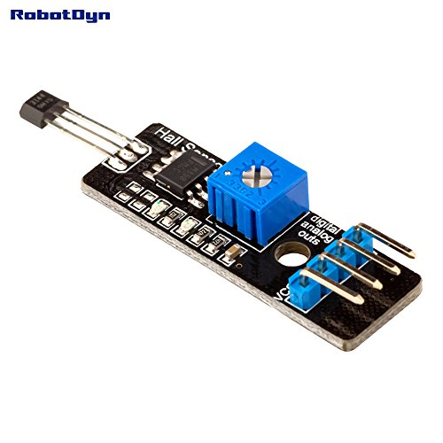 RobotDyn - Hall Magnetic Sensor with Analog & Digital Outs. Proximity Magnetic detect.