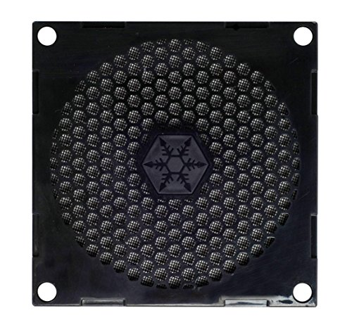 SilverStone Technology SST-FF81B 80mm Ultra Fine Fan Filter with Magnet Cooling