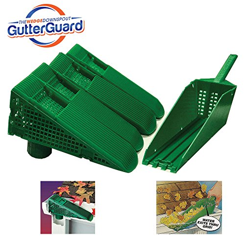 The Wedge Gutter Guard Value Kit (Green)