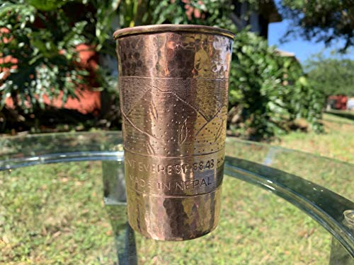 Everest Emporium Water Glass, Hand Made Pure Copper