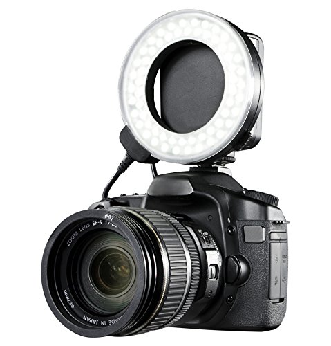 Canon EOS M5 Dual Macro LED Ring Light/Flash (Applicable for All Canon Lenses)