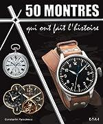 50 montres qui ont fait l'histoire de Constantin Pârvulesco
