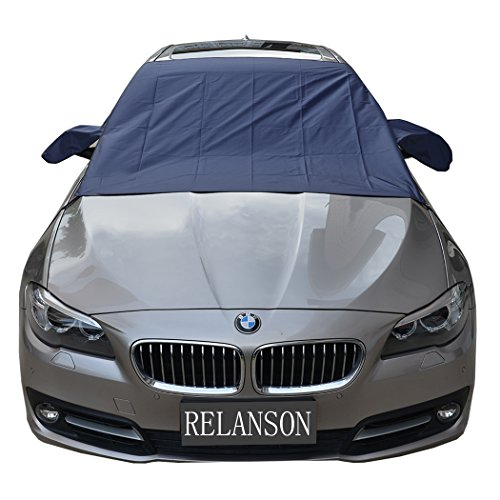 Relanson Premium Car Snow Cover - Windshield Snow Cover for Automobiles - Design Protects Windshield and Wipers from Snow, Ice, and Frost Build Up(62