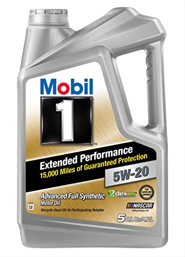 Mobil 1 (120765 Extended Performance 5W-20 Motor Oil - 5 Quart