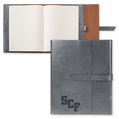 State College of Florida Fabrizio Grey Portfolio w/Loop Closure 'SCF Engraved'