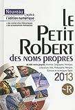 PETIT ROBERT NOMS PROPRES 2013