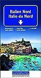 Carte routière et touristique - Italie du Nord
