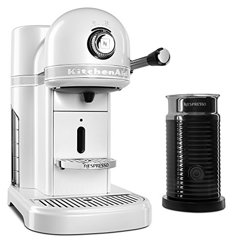 KitchenAid KES0504FP Nespresso Bundle, Frosted Pearl
