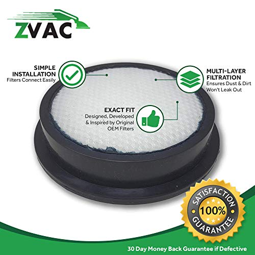 ZVac Replacement Dyson Pre Filter Compatible with Dyson Part # 915928-01, F992, 913788-01, F616 Fits Dyson Dc24 Animal and Dyson Dc24 All Floors Models - 2 Pack in A Bag