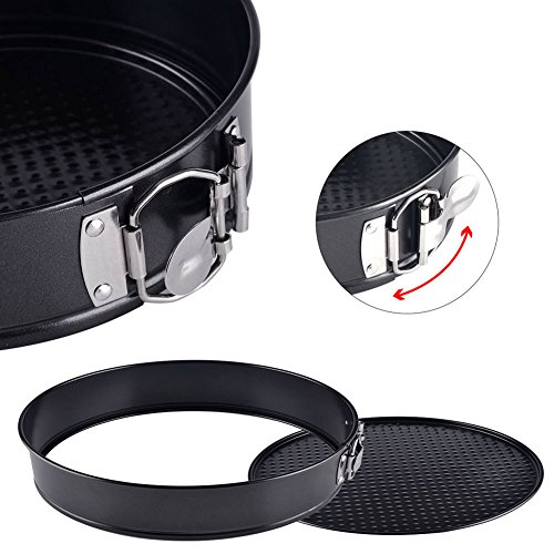 7 inch Springform Pan, Alotpower Non-Stick Cake Pan Bakeware Cheesecake Pan Leakproof Cake Pan with Removable Bottom for Instantpot Pressure Cooker or Oven