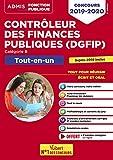 Concours Contrôleur des Finances publiques (DGFIP) Catégorie B - Tout-en-un - Concours 2019-2020
