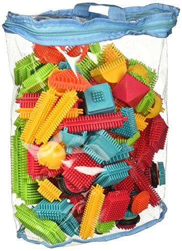 Lazaga AMOSTING Building Blocks Set Educational Stacking Bath Toys for Toddlers Kids – 150pcs with Storage Bag