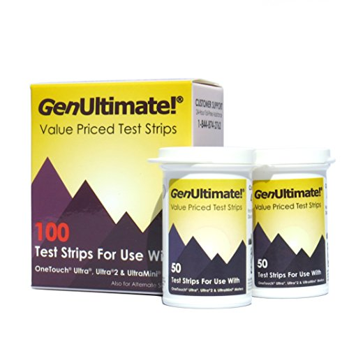 GenUltimate Test Strips, 100 Count
