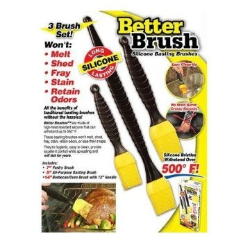 Better Brush Revolutionary Grilling And Cooking Brushes