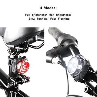 عروض مجموعة مصابيح الدراجة القابلة لإعادة الشحن Ascher