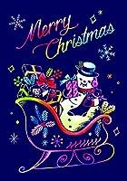 ラゴデザイン クリスマス スクラッチポストカード ソリいっぱいのプレゼント PC-CM05 スクラッチポストカード1枚+封筒1枚+スクラッチスティック1本 [日本正規品]