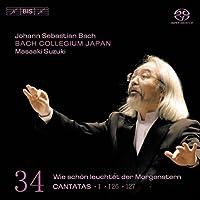 Bach: Cantatas, Vol 34 (BWV 1, 126, 127) /Bach Collegium Japan ・ Suzuki (2007-02-27)