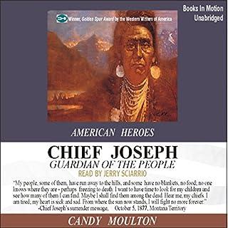 Chief Joseph audiobook cover art