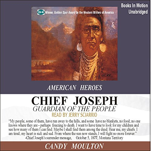 Chief Joseph audiobook cover art