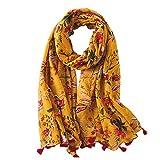 Ecroon Bufanda Fular De Mujer Hombre Calientes de Invierno Bufandas 180 * 90CM
