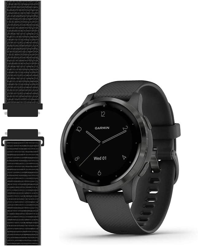 Sport Sale item Mesh Strap Compatible with Garmin 2S Venu vivoactive Sm 4S Purchase