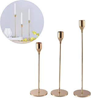 Golden One-Armed Candle Holder Wedding/Party Main Table Decoration Iron Candlestick, Home/Bar Decoration Table Decoration
