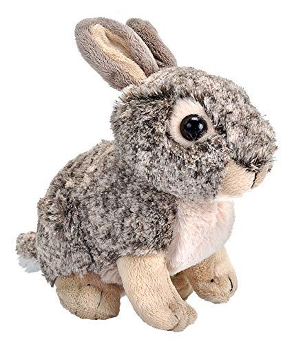 Wild Republic 15951 18044 Bunny Plush Plüsch Kaninchen, Cuddlekins Kuscheltier, Plüschtier, 20 cm, Multi