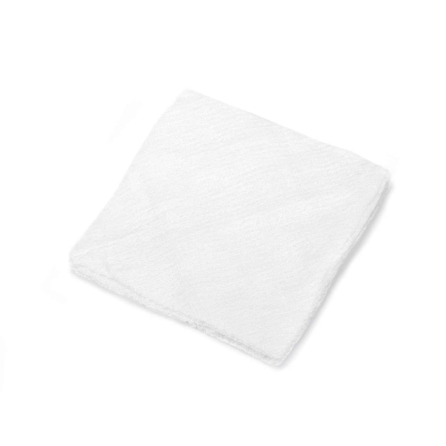 MediChoice Super Fluff Gauze Sponge, Non-Sterile, 9.75x10.75 Inch, White, 1314GZ6503 (Case of 200)