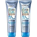 L'Oréal Paris Hair Care EverCurl Sulfate Free Shampoo & Conditioner Kit, Hydrates + Softens, With...
