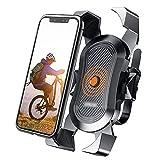 PPKZY Titular de teléfono de la Bicicleta Motocicleta Universal Bicicleta Teléfono Teléfono Manillar Soporte Soporte Soporte de Soporte Tenedor de teléfono para iPhone Samsung