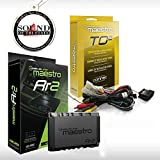 Maestro RR ADS-MRR2 Universal Radio Replacement & Steering Wheel Interface + iDatalink HRN-RR-TO2 Integration Adapter fits Select 2012-up Toyota-Made Cars with Sound of Tri-State Car Freshener Bundle