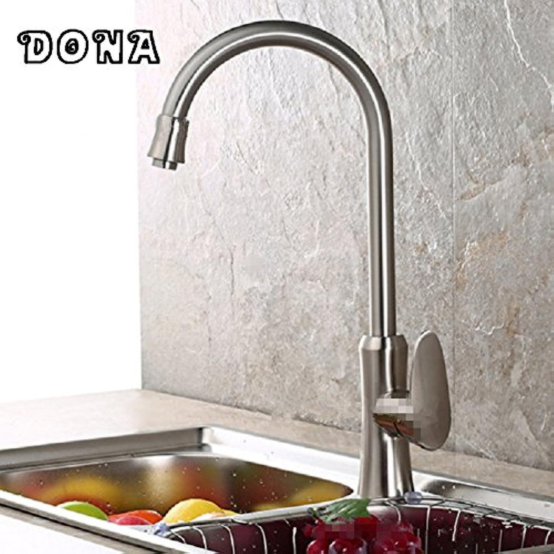 Maifeini Nickel Gebürstet Küche Wasserhahn Moderne Küche Wasserhahn Wasserhahn Edelstahl Schlauch