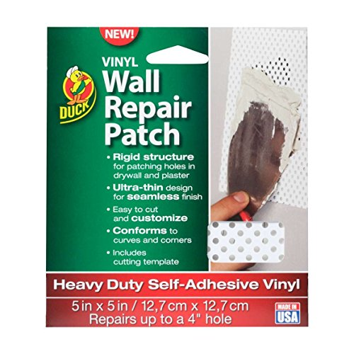Duck Brand Vinyl Wall Repair Patch, Heavy Duty, 7