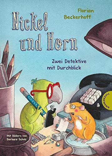 Nickel und Horn 1: Nickel und Horn: Zwei Detektive mit Durchblick | Lustiger Krimi zum Vorlesen für Kinder ab 6 Jahren (1)