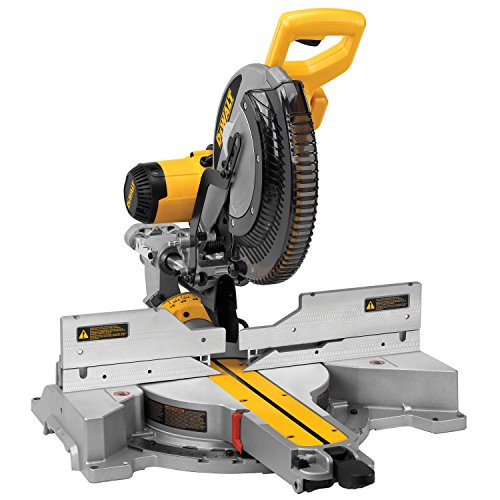 DEWALT 12-Inch Sliding Compound Miter Saw, Double Bevel...