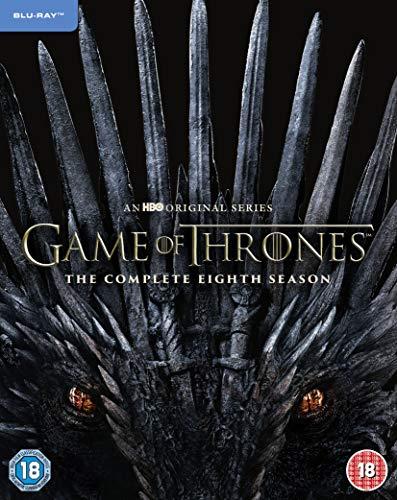 Game of Thrones S8 (3 Blu-Ray) [Edizione: Regno Unito] [Import]