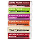 Xero Picks Infused Flavored Toothpicks for Long-Lasting Fresh Breath & Dry Mouth Prevention (Variety 6-Pack)