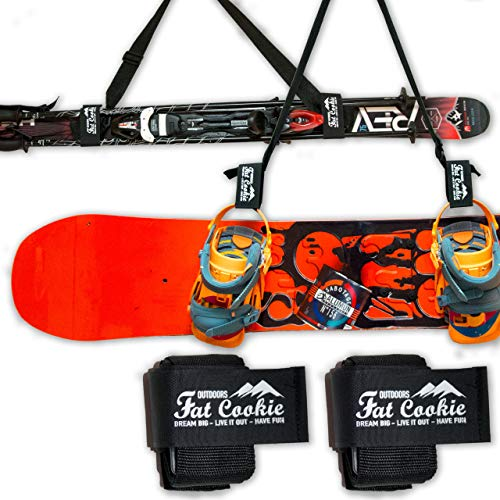 Fat Cookie Outdoors - Correa para Transportar Tablas de Snow