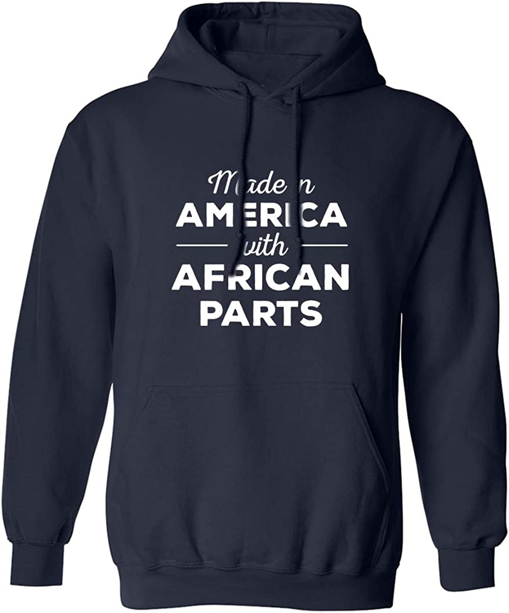 Made In America w/ African Parts Adult Hooded Sweatshirt
