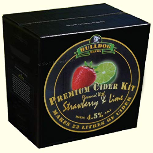 BULLDOG STRAWBERRY AND LIME FLAVOURED CIDER (KG. 3)