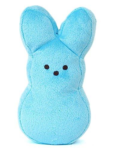 "Peeps Plush Bunny - 6"" Blue"