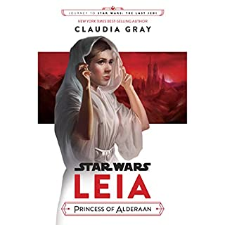 Journey to Star Wars: The Last Jedi Leia, Princess of Alderaan audiobook cover art