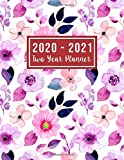 2020-2021 Two Year Planner: 2 year appointment planner 2020-2021 | 24 Months Agenda Planner with Holiday from Jan 2020 - Dec 2021 Large size  8.5 x 11 ... for Mom (2 year monthly planner 2020-2021)