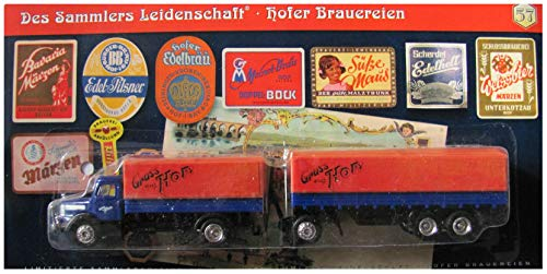 Des Sammlers Leidenschaft Nr.57 - Hofer Brauereien - Krupp Mustang - Hängerzug Oldie