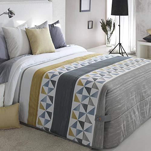 Reig Marti - Edredón Conforter Wang 02 - Cama 150 Cm - Color Beig C01